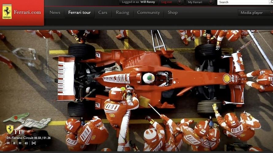 New Ferrari.com website to go live during first 2009 F1 Grand Prix season opener