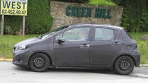 2012 Toyota Yaris prototype spy photo