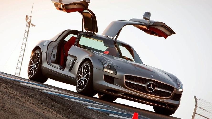 Mercedes SLS AMG, ML450 Hybrid to Debut in Los Angeles