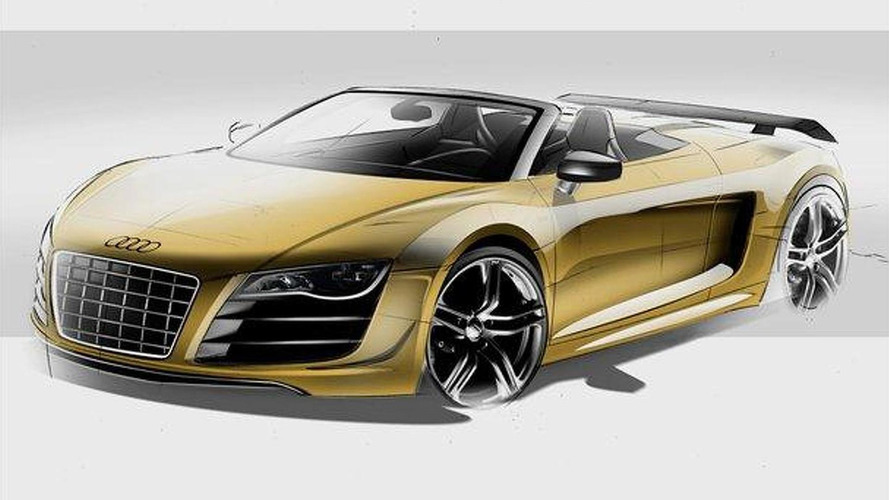 Audi R8 GT Spyder officially revealed