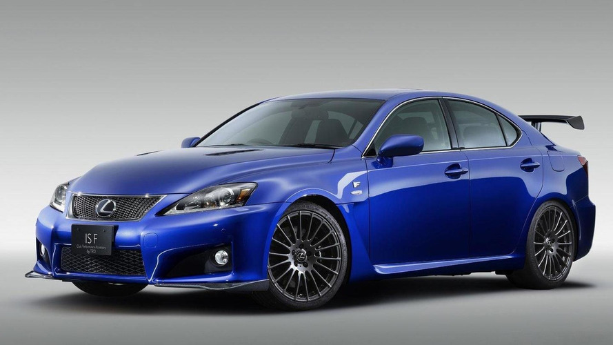 No New Lexus IS F Coming, Not Even With Next Generation