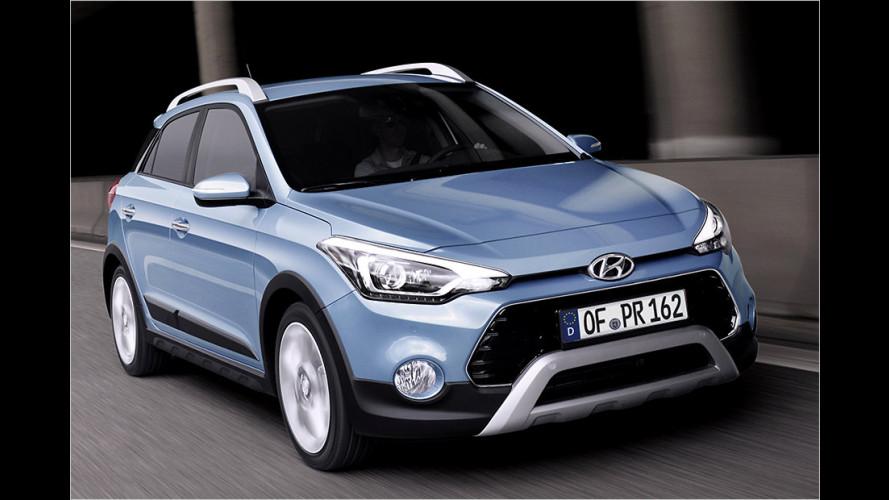 Drei-Klang im Hyundai i20