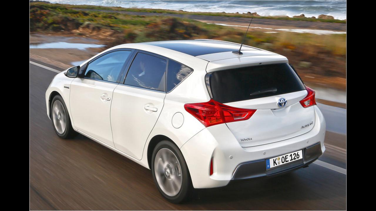 Die Besten der Kompaktklasse, geteilter Platz 2: Toyota Auris Hybrid, 7,38 Punkte