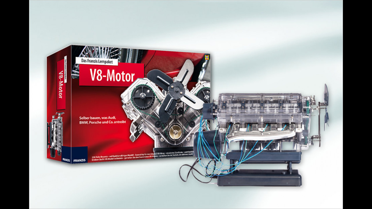 Franzis Lernpaket V8 Motor