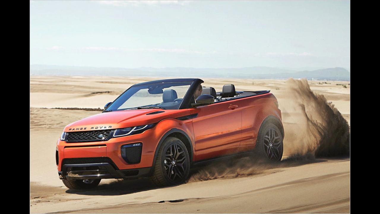 Flop: Range Rover Evoque Cabrio