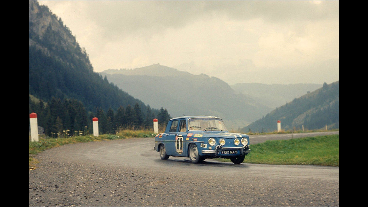 Renault 8 als technische Basis