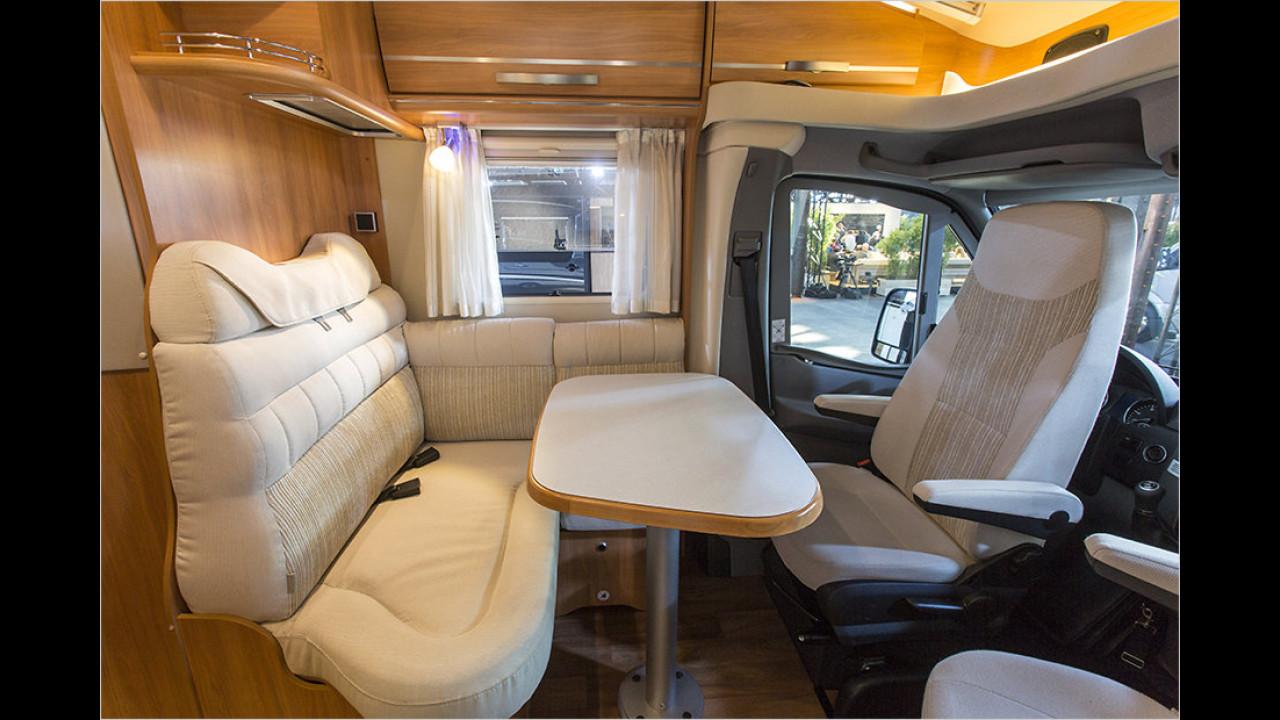 Reisemobil von Hymer