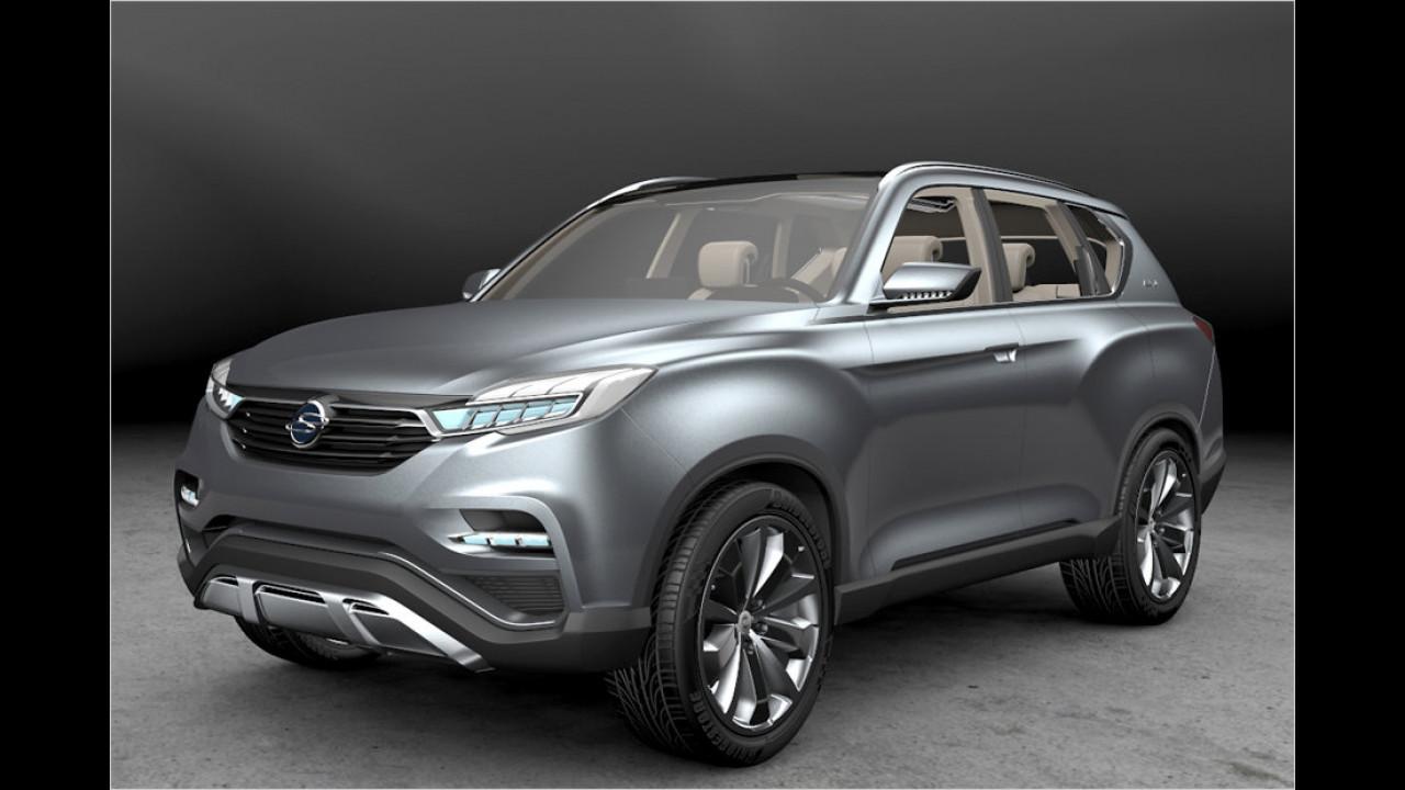 SsangYong: SUV-Ausblick
