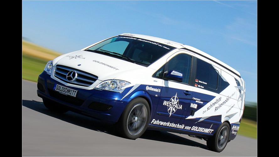 Westfalia baut das schnellste Wohnmobil der Welt