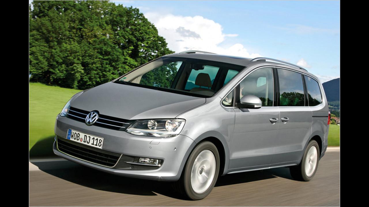 VW Sharan 2.0 TDI: + 38,2 Prozent
