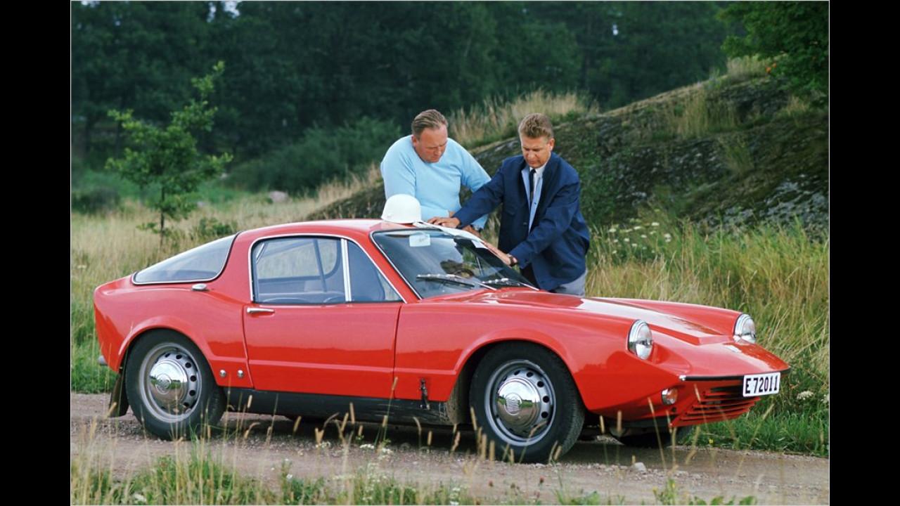 Deutlich mehr Liebhaber fand der 1964 vorgestellte Saab Sonett II