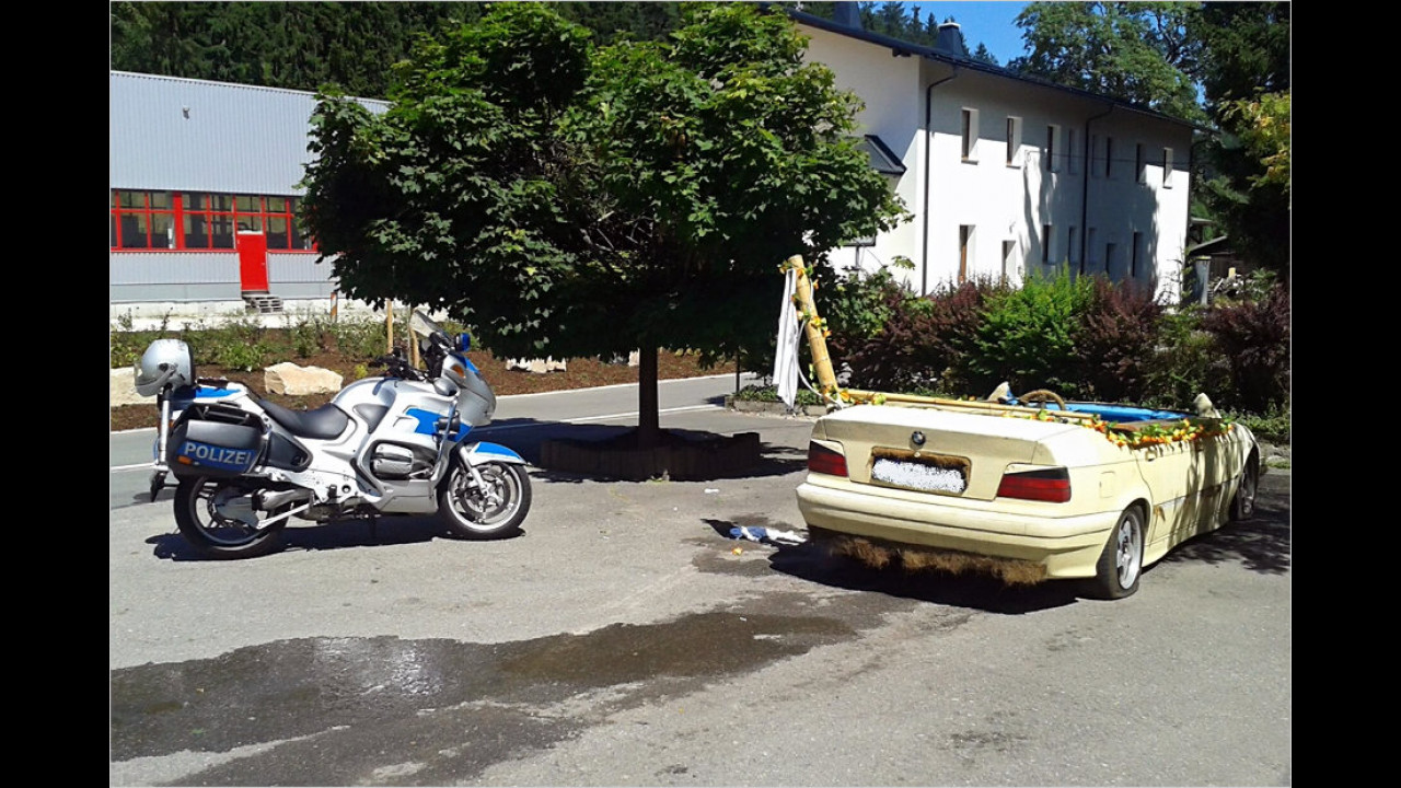 BMW als fahrender Pool