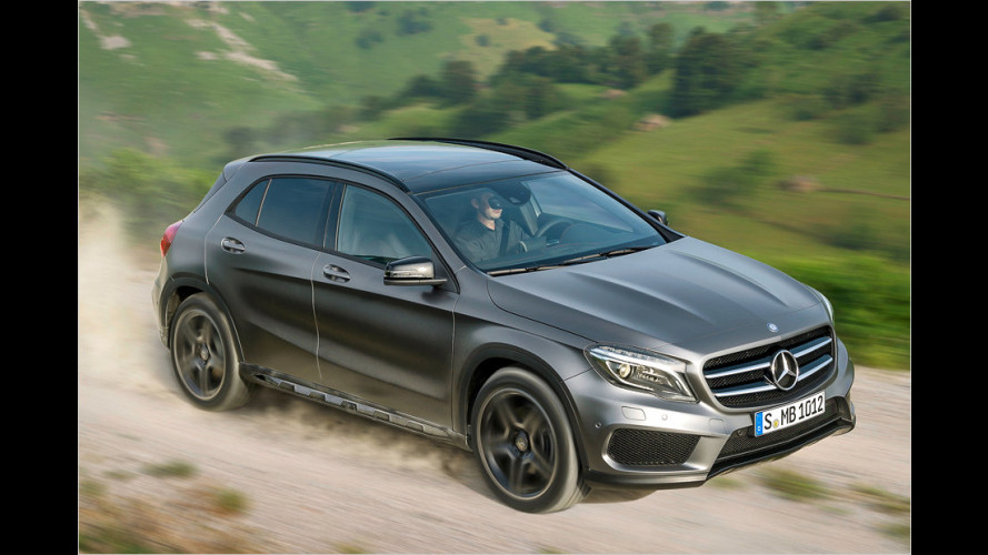 Mercedes GLA: Windschnittig, allradfähig und teuer