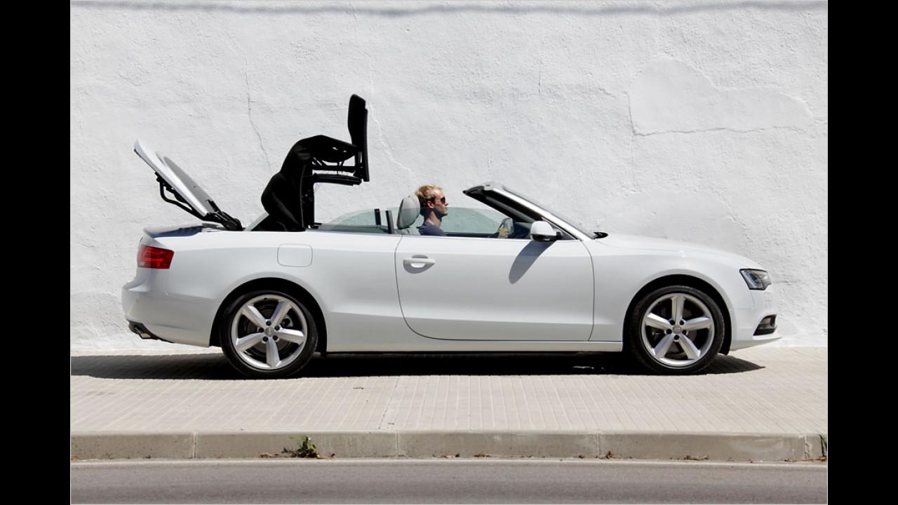 Audi A5 Cabriolet (15 Sekunden, bis 50 km/h)