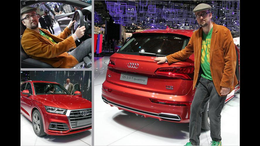 Sitzprobe im neuen Audi Q5