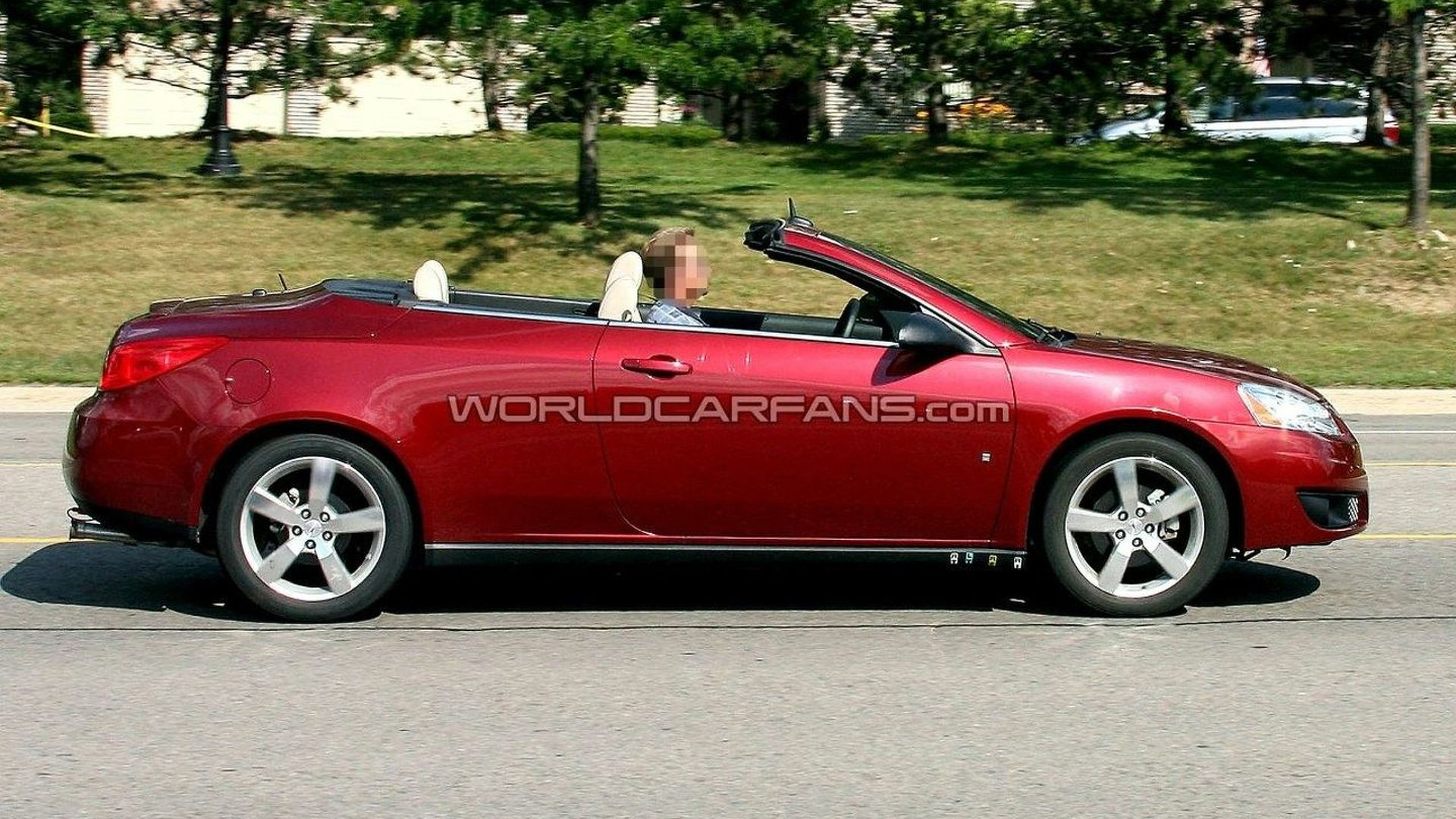 pontiac g6 2010 convertible
