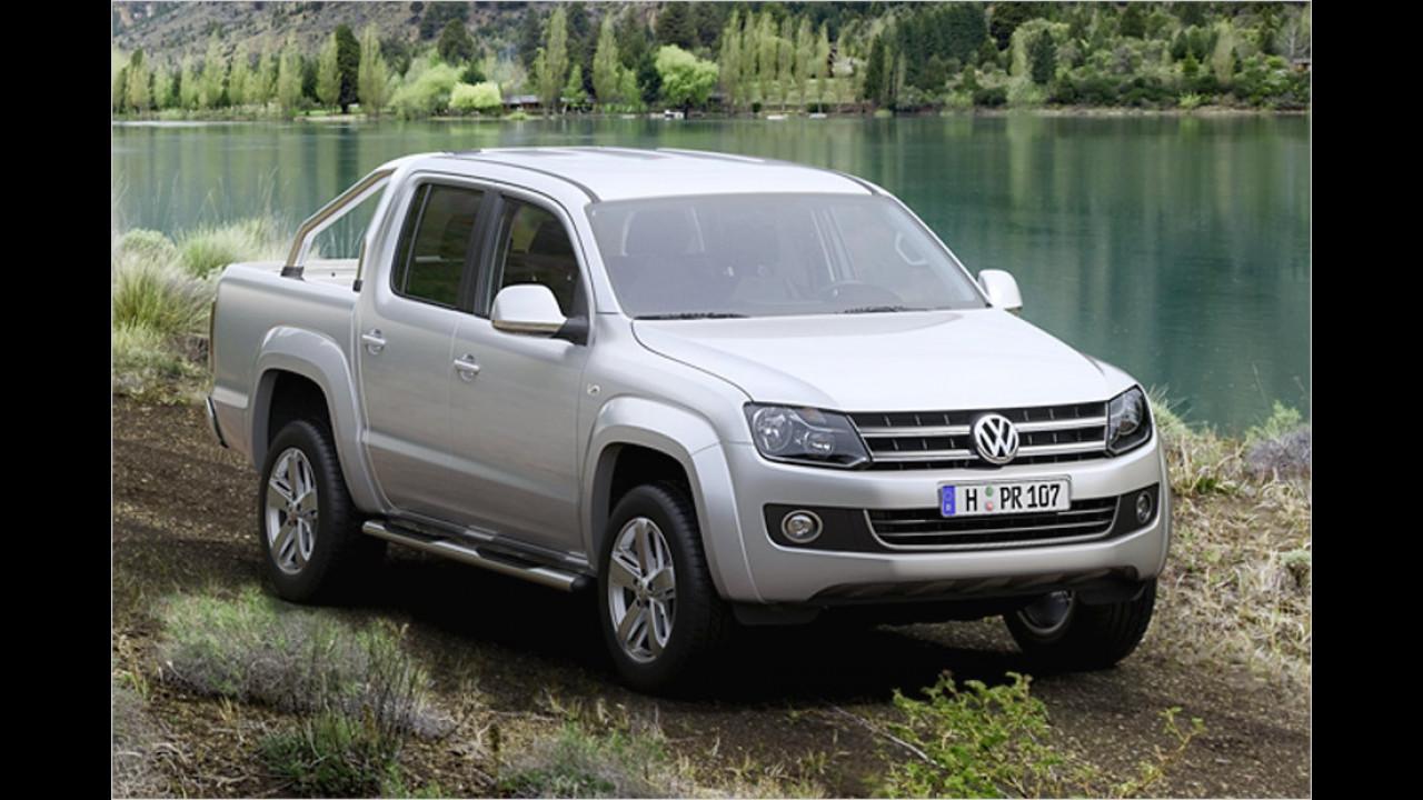 Kleintransporter, 50.001 bis 100.000 Kilometer: VW Amarok (2010)