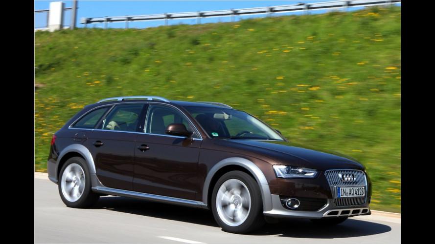 Gelifteter Audi A4 allroad quattro (2012) im Test