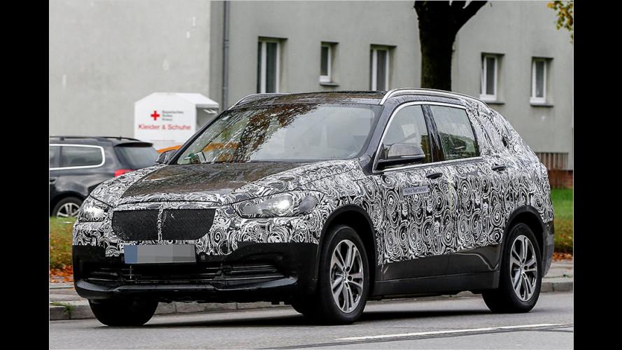 Das ist ein sehr großer BMW X1