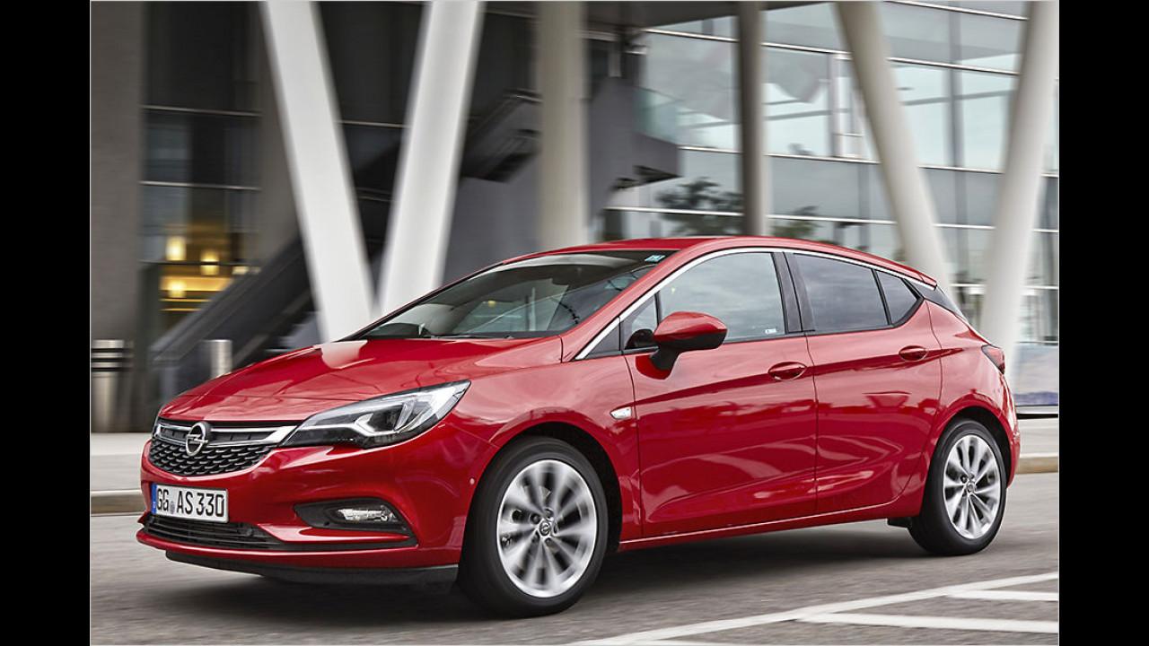Platz 8: Opel Astra