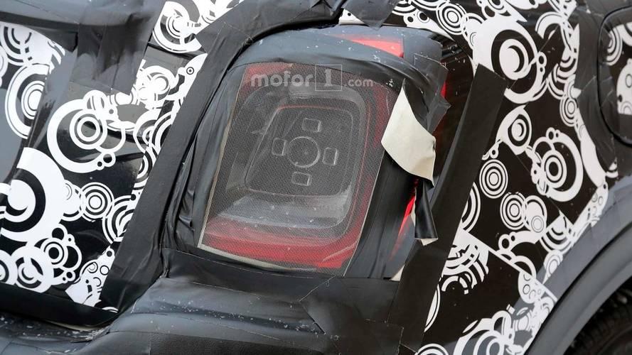 Fiat 500X Facelift Spy Photo