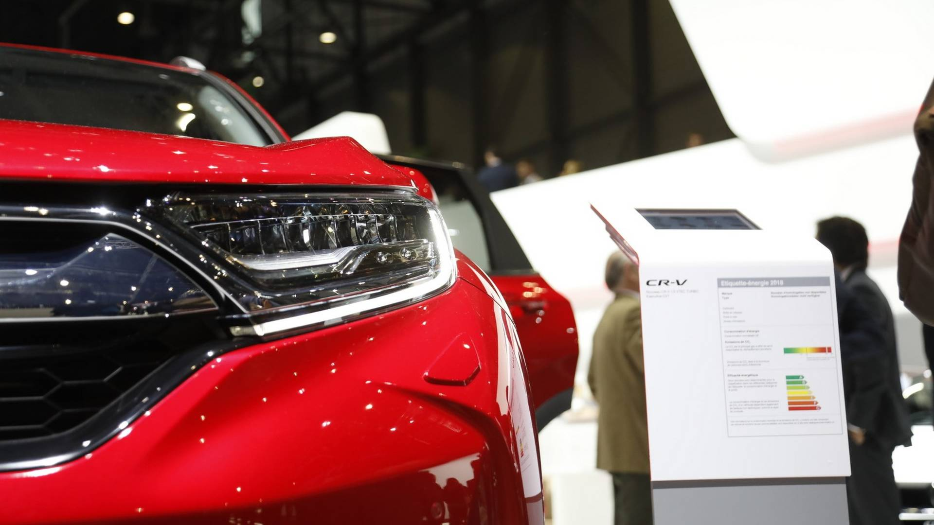 New Honda Cr V Euro Spec Live From Geneva Motor Show Hyundai 3 5l Engine Parts Breakdown