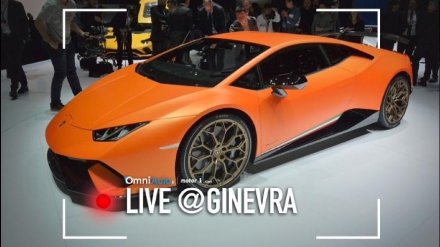Ginevra, la Lamborghini Huracan Performante fa sognare la pista [VIDEO]