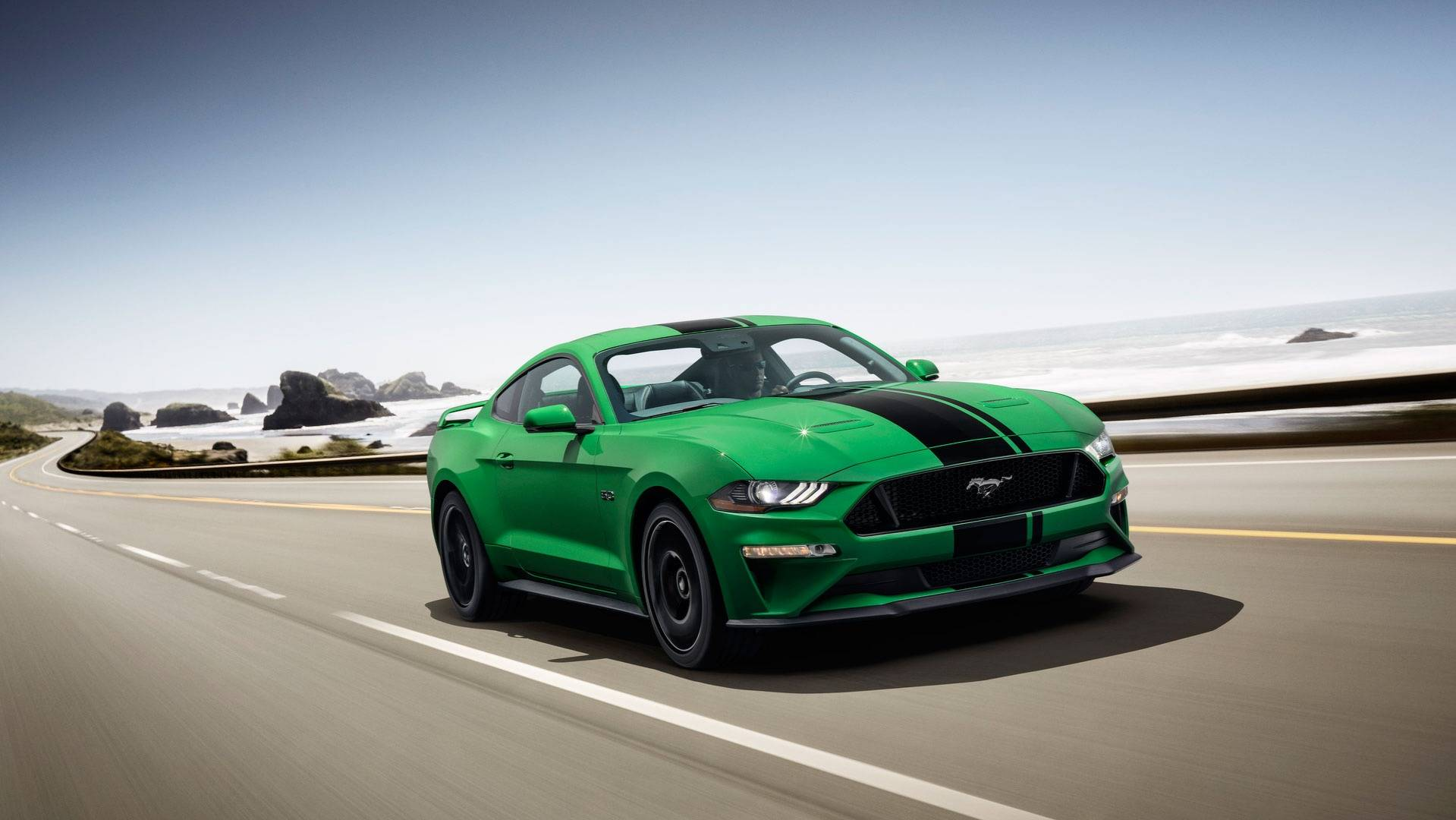 Mustang smash pony car hulks out with new green color option