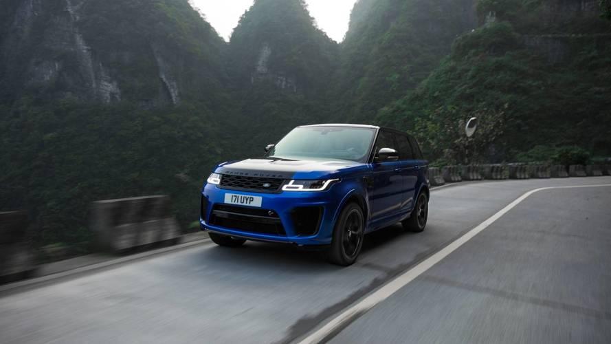 Range Rover Sport SVR: récord en la carretera de Tianmen