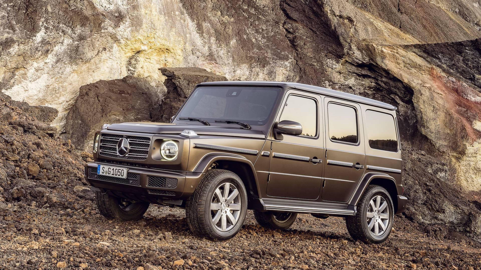 El Mercedes Benz Clase G 2018 Estrenará Una Mecánica Turbodiésel