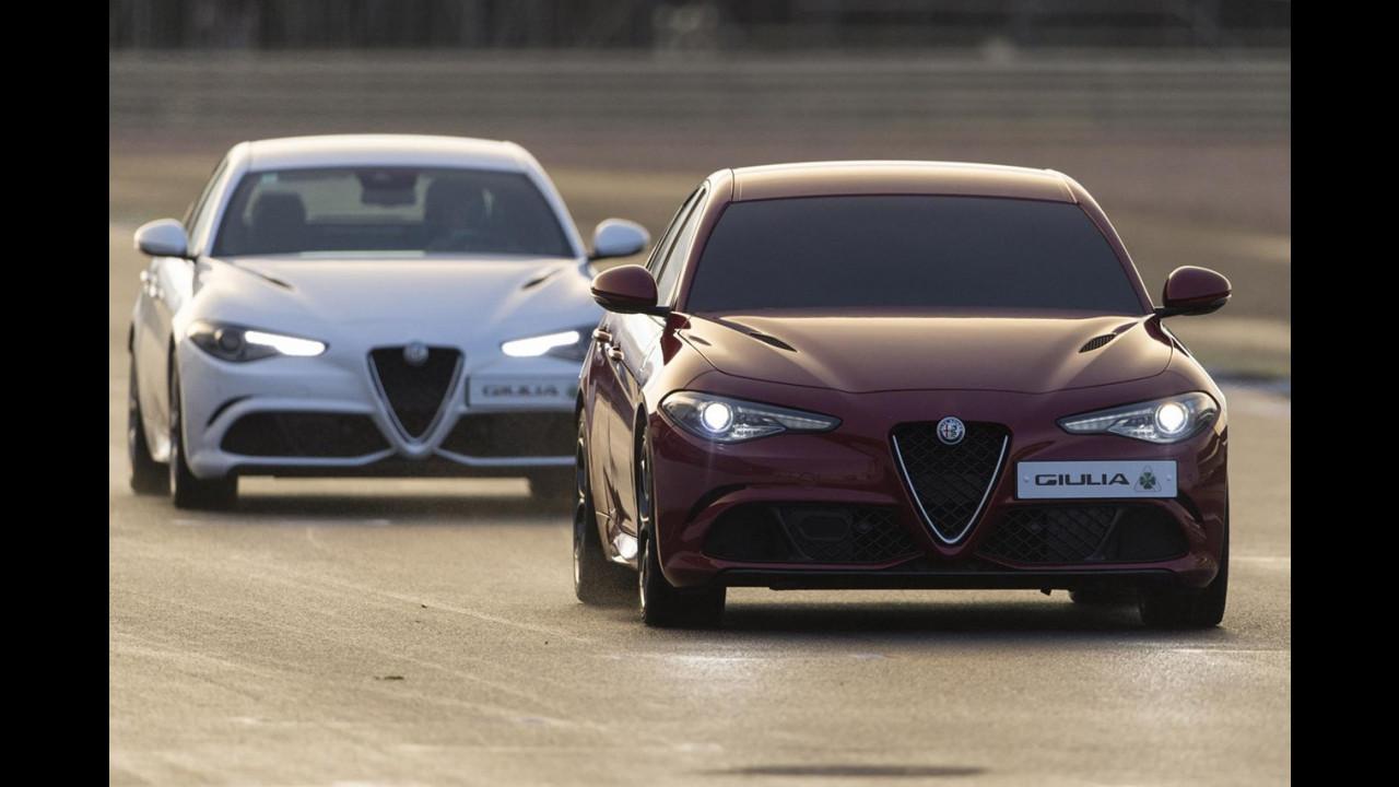 Alfa Romeo Giulia Quadrifoglio, il record