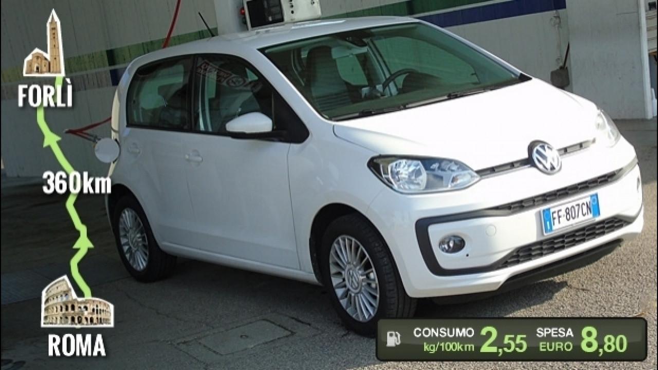 [Copertina] - Volkswagen eco up!, la prova dei consumi reali [VIDEO]