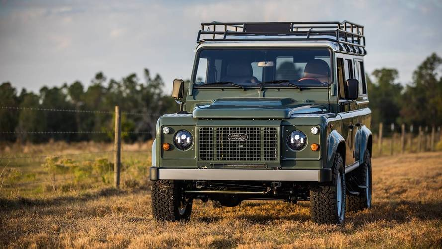 East Coast Defender presenta el Project Tuki, un clásico adorable