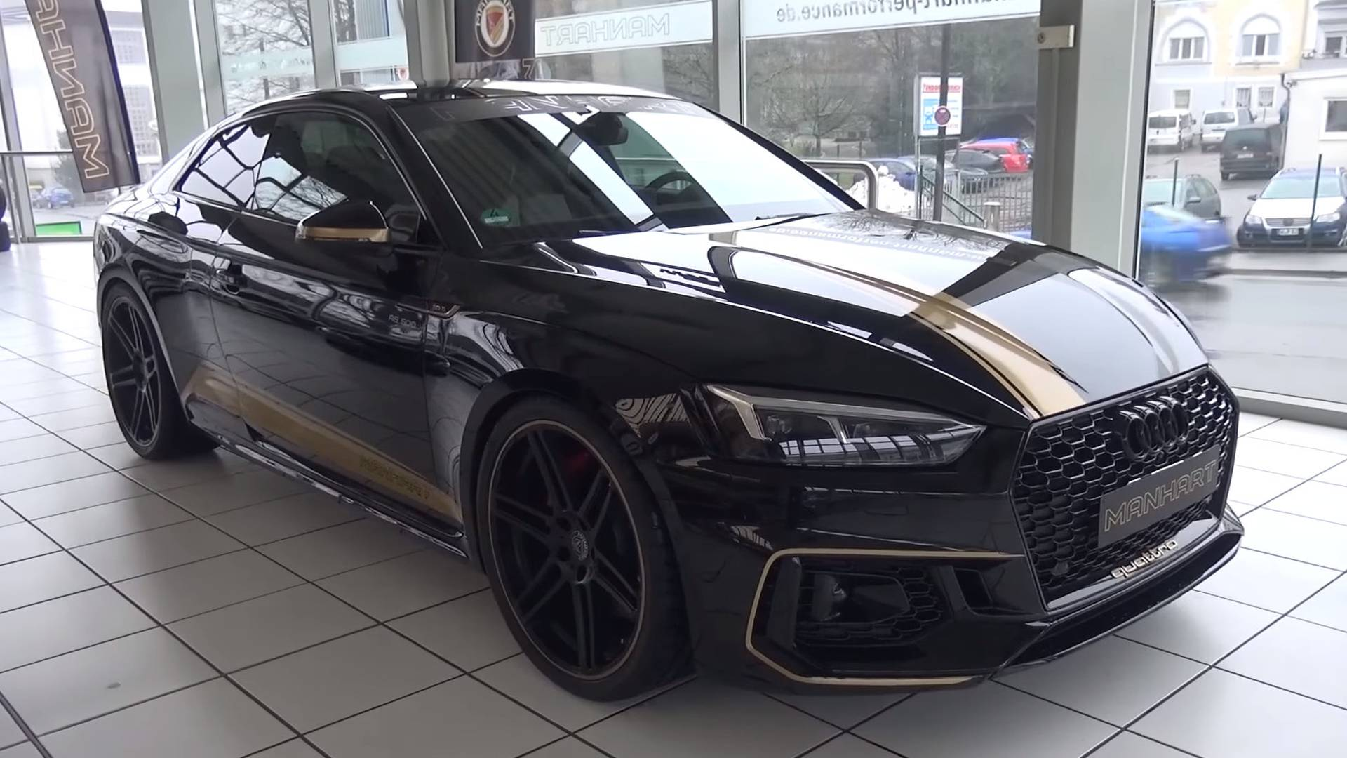 Manhart Takes Audi Rs5 Coupe To New Heights