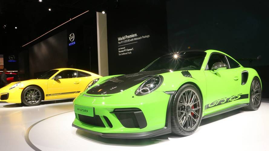 Porsche adds Weissach pack to 911 GT3 RS