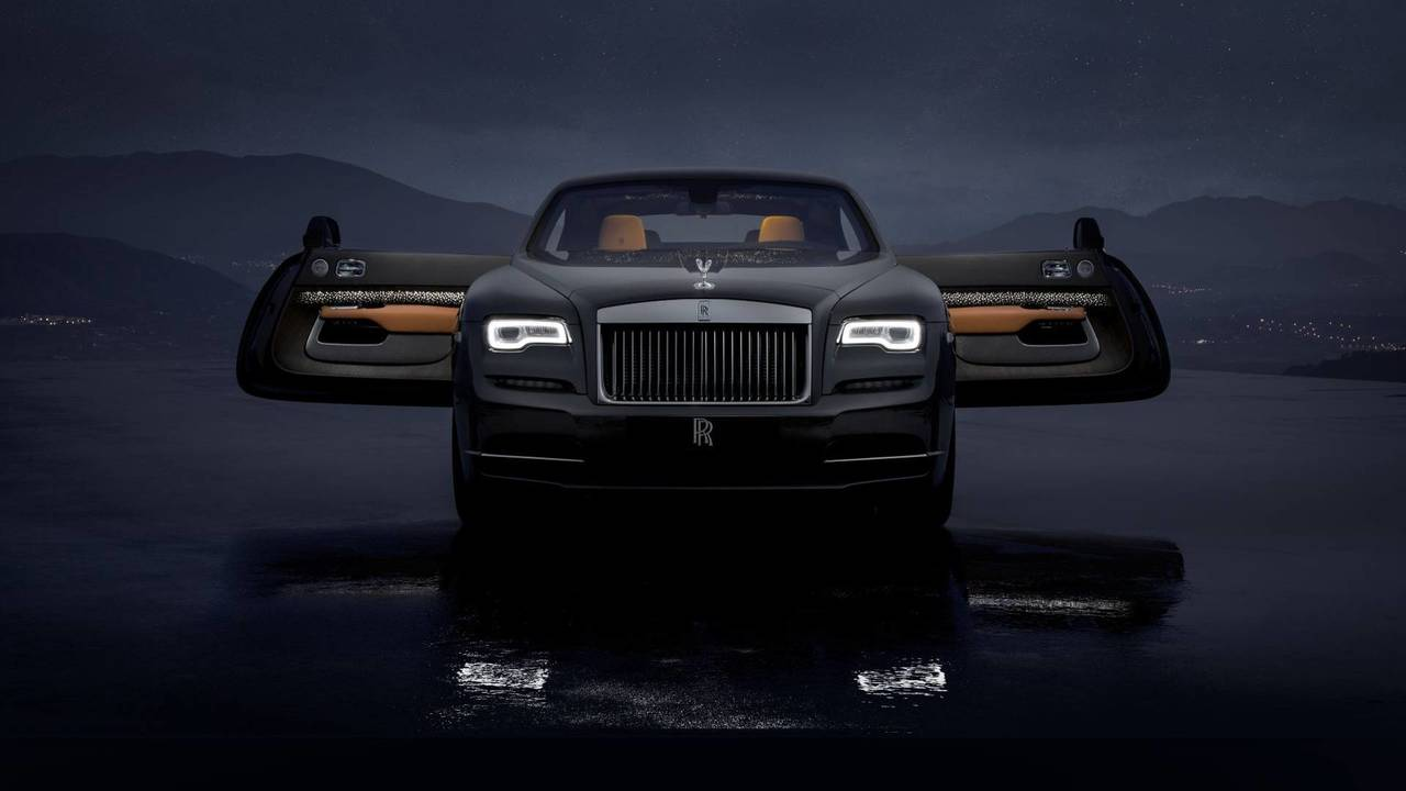 Rolls Royce Wraith Luminary Collection Has Shooting Star Headliner