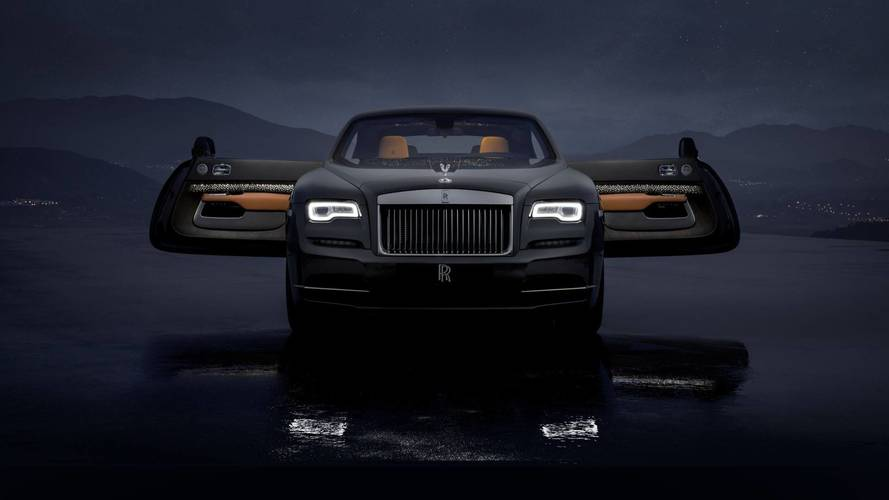 Rolls Royce Wraith Luminary Collection, le stelle cadenti sono di serie