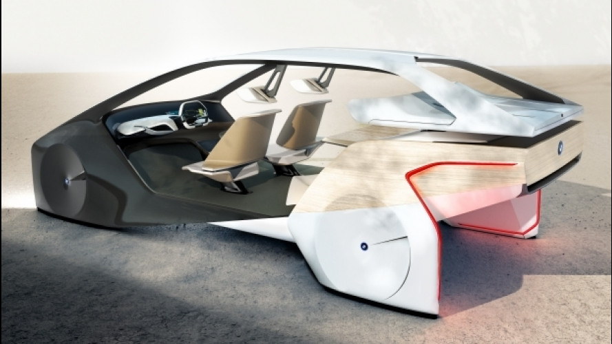 BMW i Inside Future, autonoma al 100%