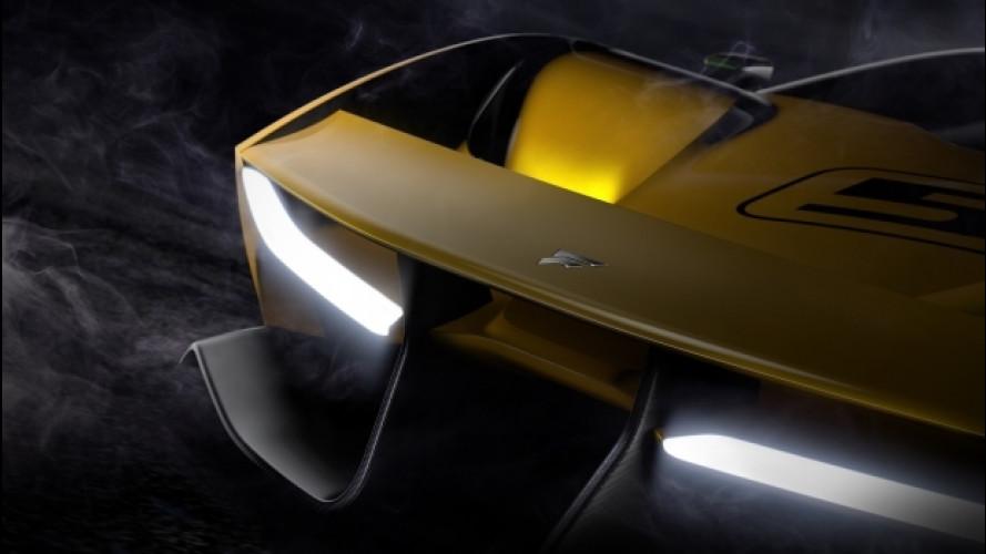 Fittipaldi EF7 Vision GT by Pininfarina, il secondo teaser