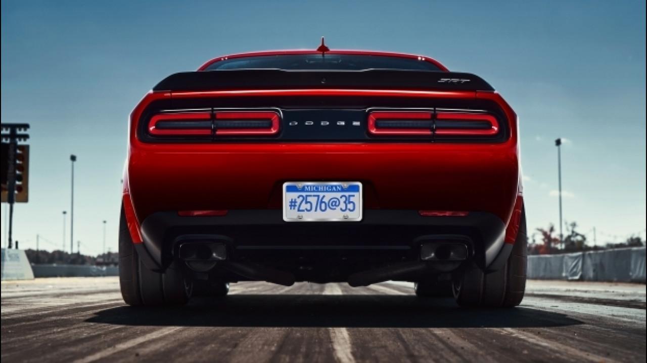 [Copertina] - Dodge Challenger SRT Demon, le gomme sono da record [VIDEO]