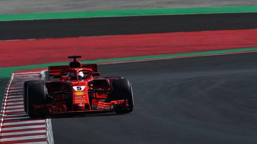 Vettel logra el mejor tiempo del quinto día y McLaren se para tres veces