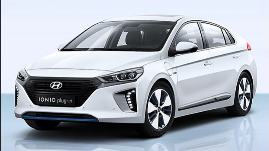 Hyundai Ioniq Plug-in, 63 km a zero emissioni
