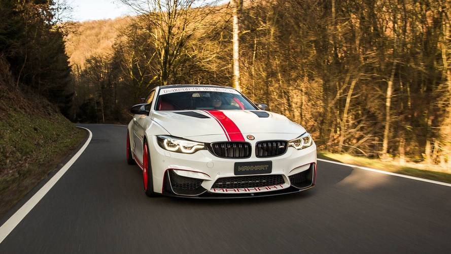 Manhart MH4 550 2018: un BMW M4 Coupé de altos vuelos