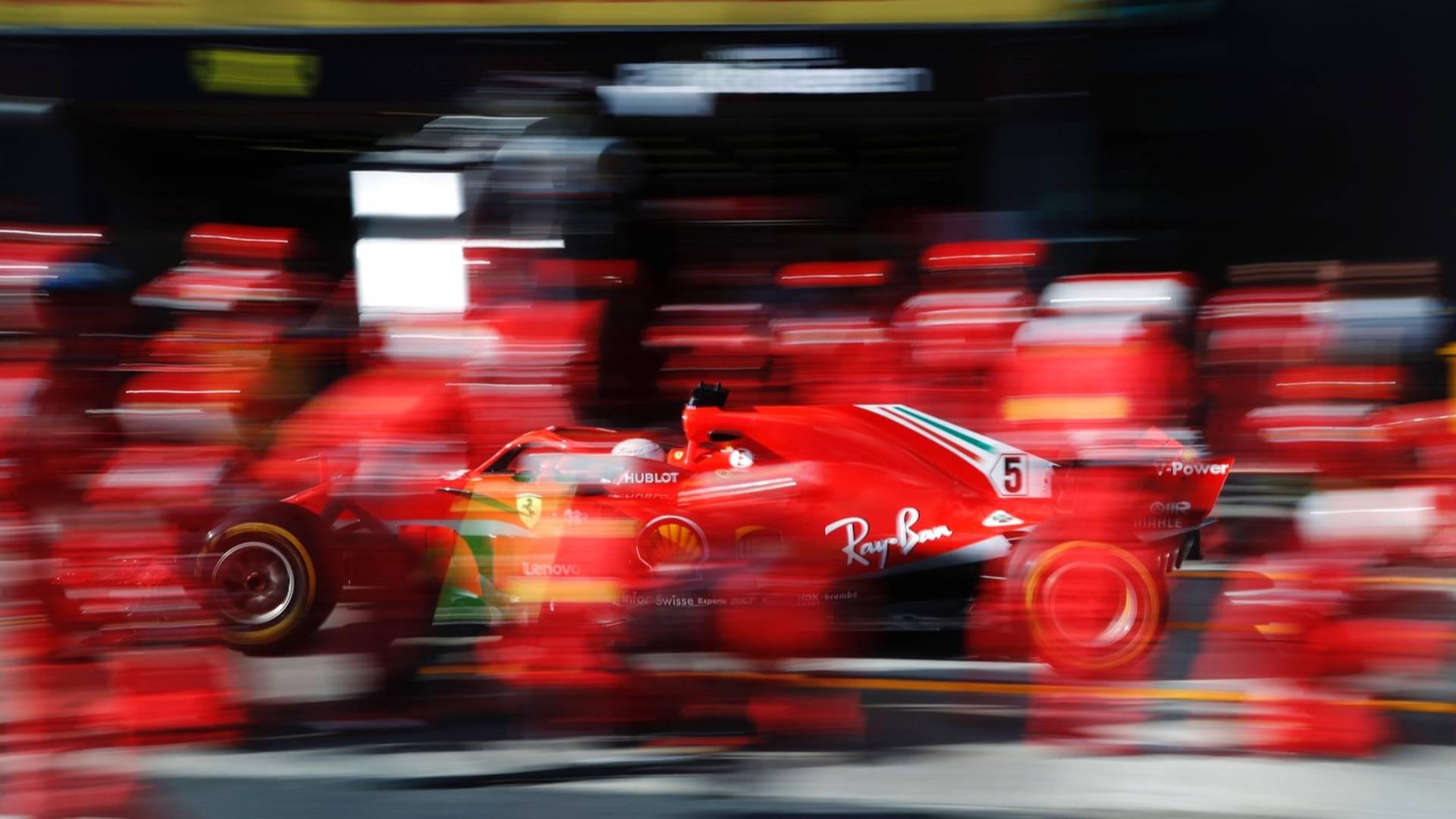 Resultado de imagen de Vettel Alonso Hamilton Ferrari italia