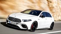 Render Mercedes-AMG A 45 4MATIC 2018