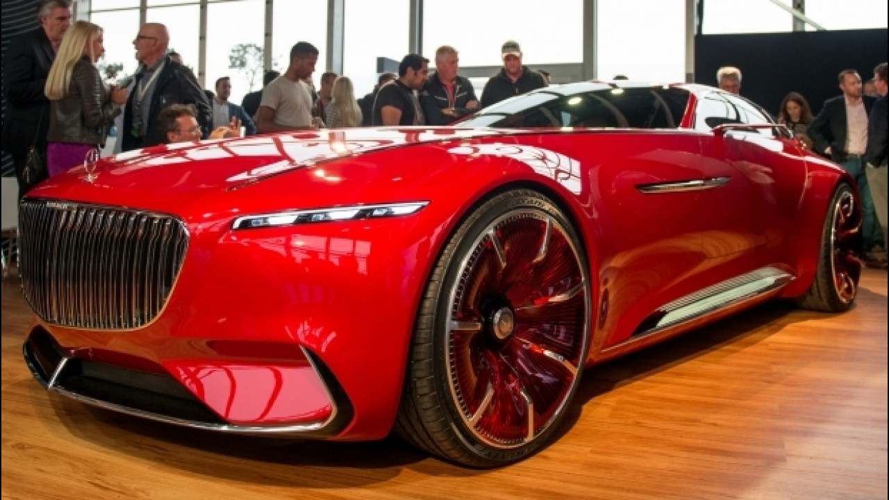 [Copertina] - Mercedes-Maybach 6, la super coupé elettrica