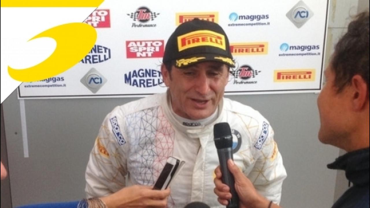[Copertina] - Zanardi vince al Mugello con la BMW M6 GT3: la sua favola continua!
