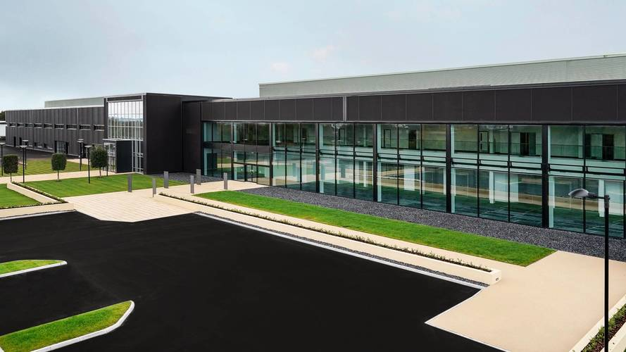 New Aston Martin Factory Passes Key Milestone