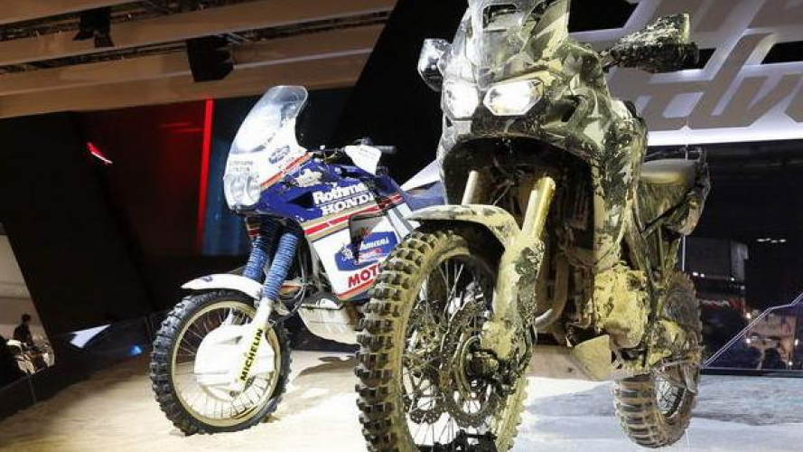Honda True Adventure: la storia dell'Africa Twin nel primo video