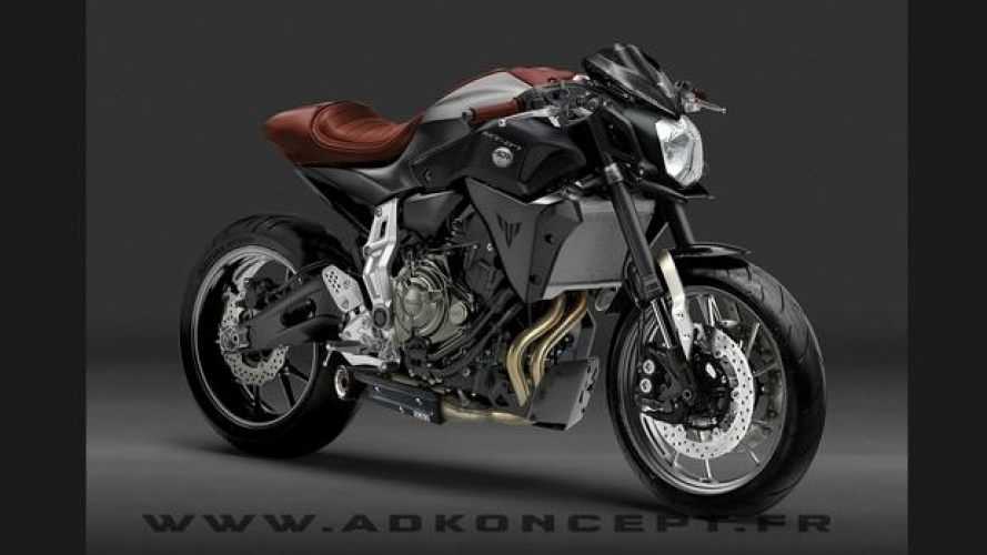 Concept Yamaha MT-07 Racer by AD Koncept